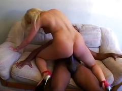 Black dick for blonde kitty