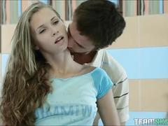 teen, petite, young, schoolgirl, bathroom, russian, euro