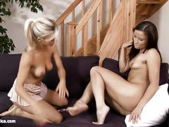 Gorgeous oralists nikol and belina very passionate lesbian