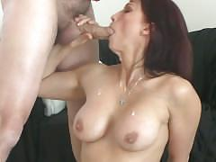 blowjob, milf, pov, rodneymoore, mom, mother, point-of-view, facial, cum-on-face, aggressive, big-tits, deep-throat, redhead, sloppy-blowjob, cumshot, fake-tits
