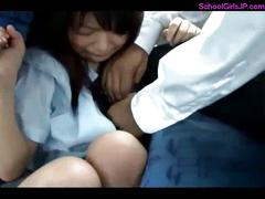 Schoolgirl rapped getting her mouth fucked sucking guy...
