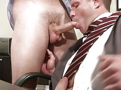 Jimmy and travis have a quick fuck in the office