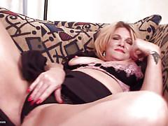 blonde, mature, solo, masturbation, couch, pov, boobs grope, usa, nipples squeezing, usa mature, mature nl, sybil
