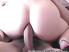 A young british couple fuck on camera with anal sex