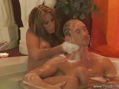 Erotic turkish massage from exotic milf