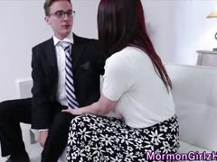 Teen missionary rammed
