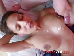 Femme enceinte baise dans une cave !! french amateur