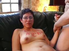 Geile sperma bitch 1