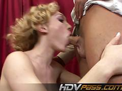 Sensual babe lily labeau loves hard cock