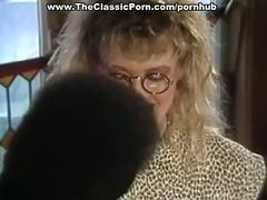 Black guy fucks hottie in classic porn