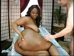 Thick bbw ebony facesitting and fuck