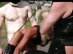Fetish sex 1 (german) smg bdsm bondage slave femdom domination