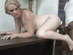 Superhot blonde pregnant creampied by bbc