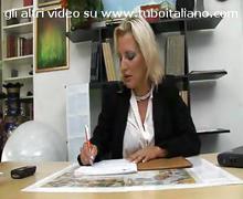 Segretaria matura amatoriale italian mature secretary