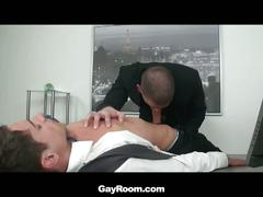 Alex vaara opens for rough office fuck