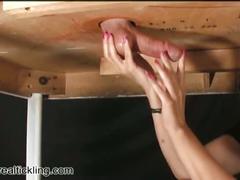 Realtickling handjob miss experienced