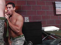 tattoo, deepthroat, blowjob, army, gay, big dicks at school, men, ricky decker, haigen sence