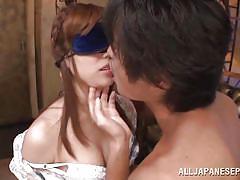 small tits, milf, japanese, kissing, blindfolded, undressing, pov, tits licking, jp milfs, all japanese pass, rina rukawa