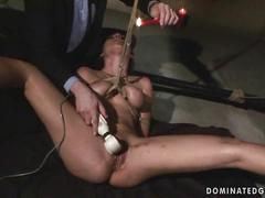 Zafira getting bondaged and punished