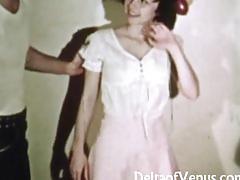 Vintage erotica 1970s  hairy pussy girl has sex  happy fuckday