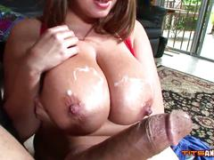 brandy,  talore,  taylor,  handjob,  titfuck,  tittyfuck,  big,  boobs,  huge,  jugs