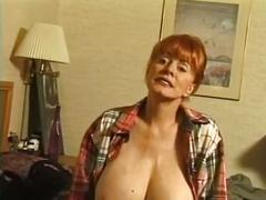big boobs, matures, redheads