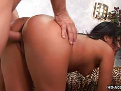 Sexy latina babe cassandra cruz gets fucked hard.
