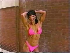 latina, hot, sexy, girl, legs, outdoors, fitness, muscles, abs, figure, biceps