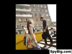 Compilation of voyeurs getting caught