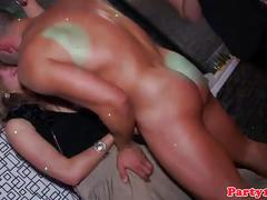 European amateur girls fucking in a sex party