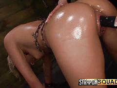 Riley uses her slave to have fun