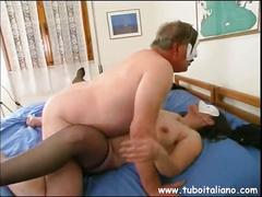 Italian wife fucked hard porcona italiana