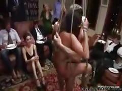 Charley chase in extreme gangbang bdsm bondage slave...