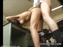 Shoplifting girl punished fucking her tight cunt