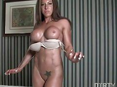 fetish, muscle, tits, fitness, fit, bodybuilder, bodybuilding