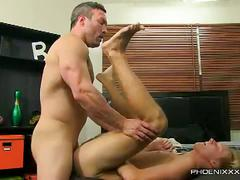 Brock landon butt sex with evan stone