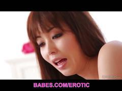Asian babe marika hase passionate sex