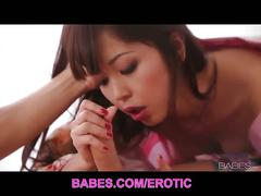 Asian babe marika hase passionate sex