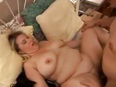 Papa - hefty honey gets a nice hard pussy pounding