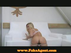 Bar girl hooking up with fake agent