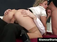 Glam stockings hot fetish slut