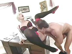 anal, tube8.com, blonde, milf, deepthroat, secretary, shaved, riding, cumshot, a2m, facial