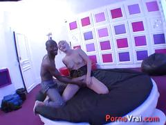 Squirting blonde baisee comme une chienne !!! french amateur