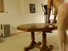 Jupiterr fucked on table and anal