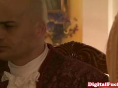 Rough lez analplay with squirting belladonna