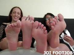 Beg and we will let you worship our perfect feet