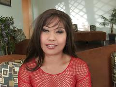Asian babe max does two dongs