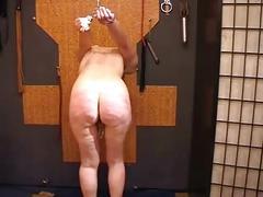 Amateur slave objects hanging