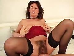 German milf teached to fuck