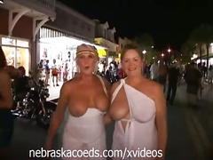 Crazy halloween street party part 1